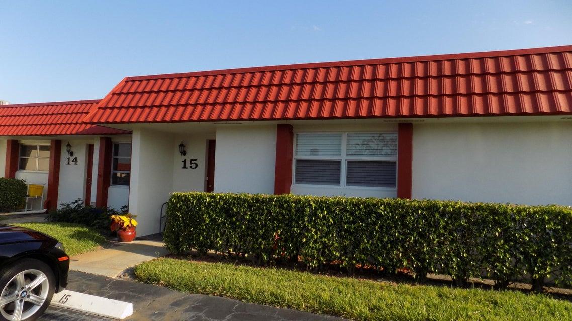 5800 W Fernley Drive 15  West Palm Beach, FL 33415