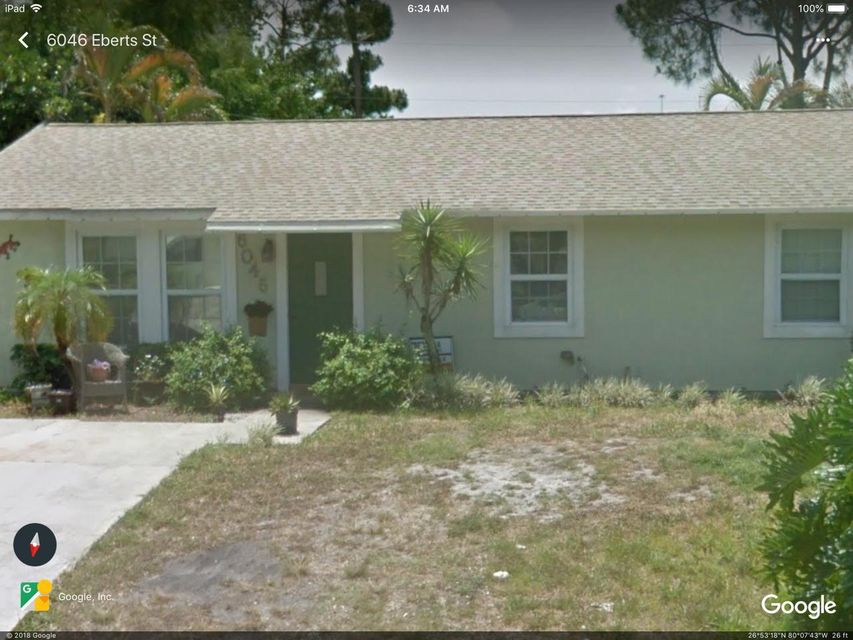 North Palm Beach Heights home on 6046  Eberts Street