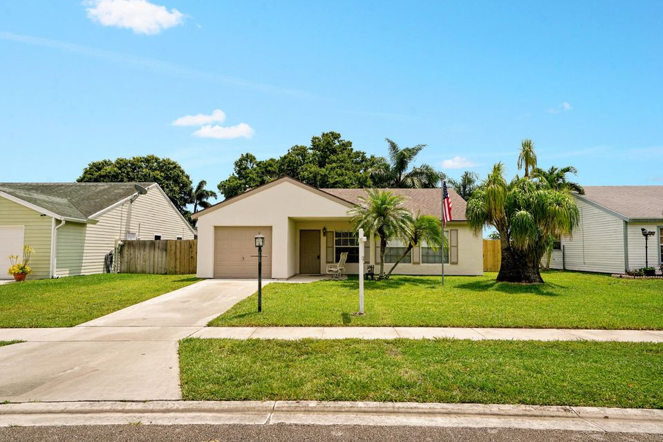 Home for sale in Countrywood Country Lakes West Lake Worth Florida