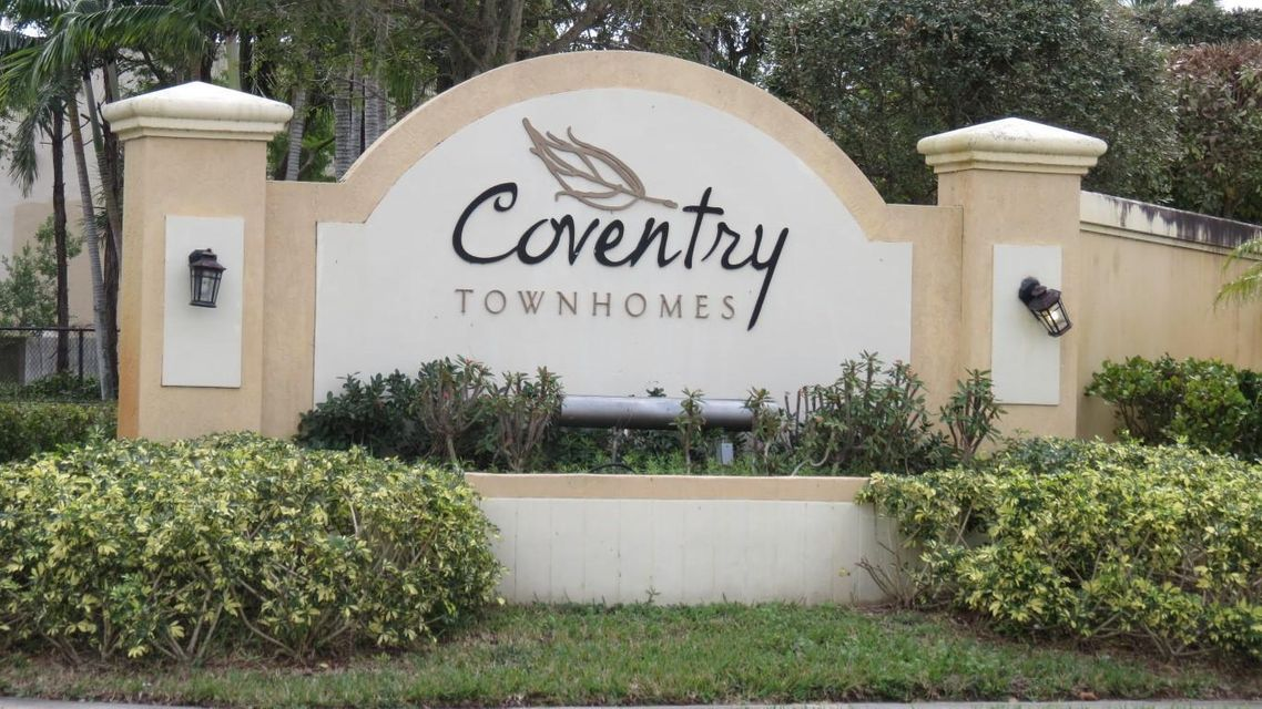 Home for sale in Coventry Townhomes Lake Worth Florida