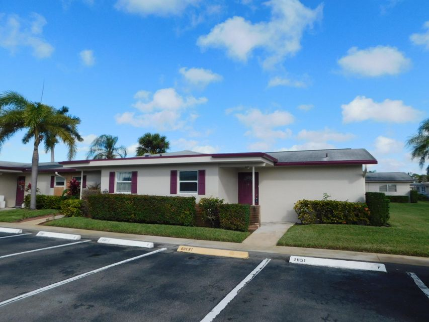Home for sale in CRESTHAVEN VILLAS 12 CONDO West Palm Beach Florida