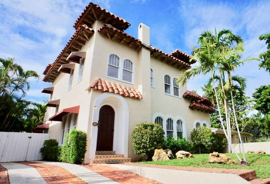 Home for sale in Flamingo Park, Historic High Density West Palm Beach Florida
