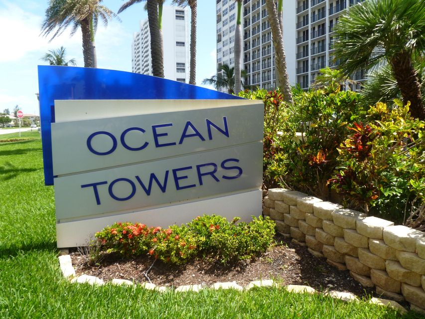 Home for sale in Ocean Towers F/k/a Whitehall South Condo Boca Raton Florida