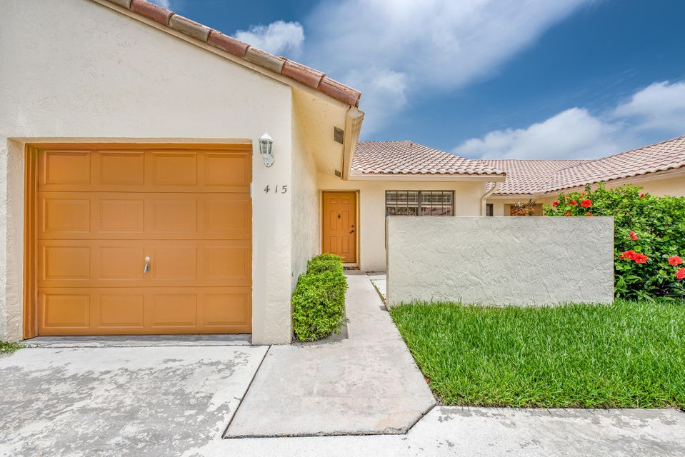 415 Cottonwood Place  Boca Raton FL 33431