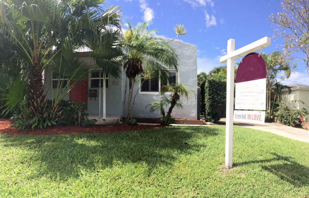 Home for sale in Flamingo Park Historic West Palm Beach Florida