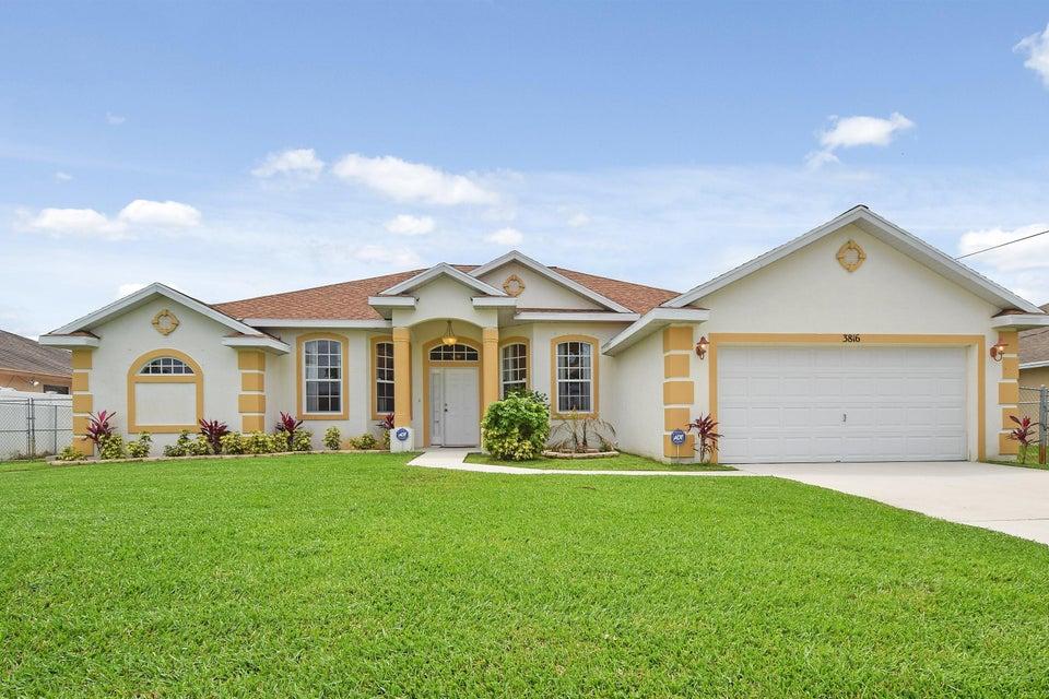 3816 SW Kolsted Street  Port Saint Lucie FL 34953