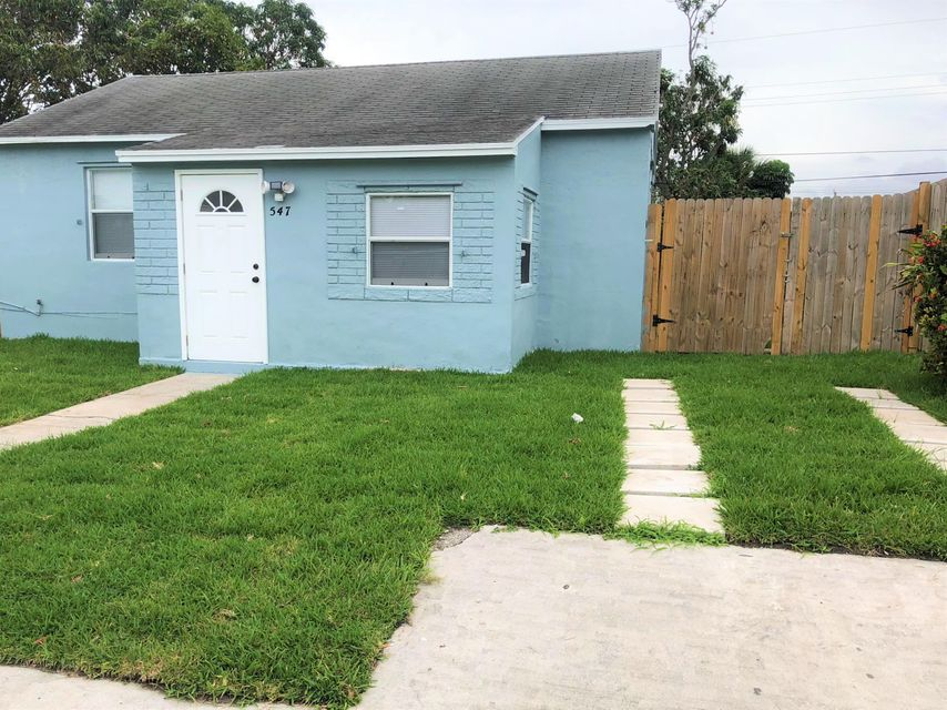 547 W 4th Street is listed as MLS Listing RX-10440606 with 14 pictures