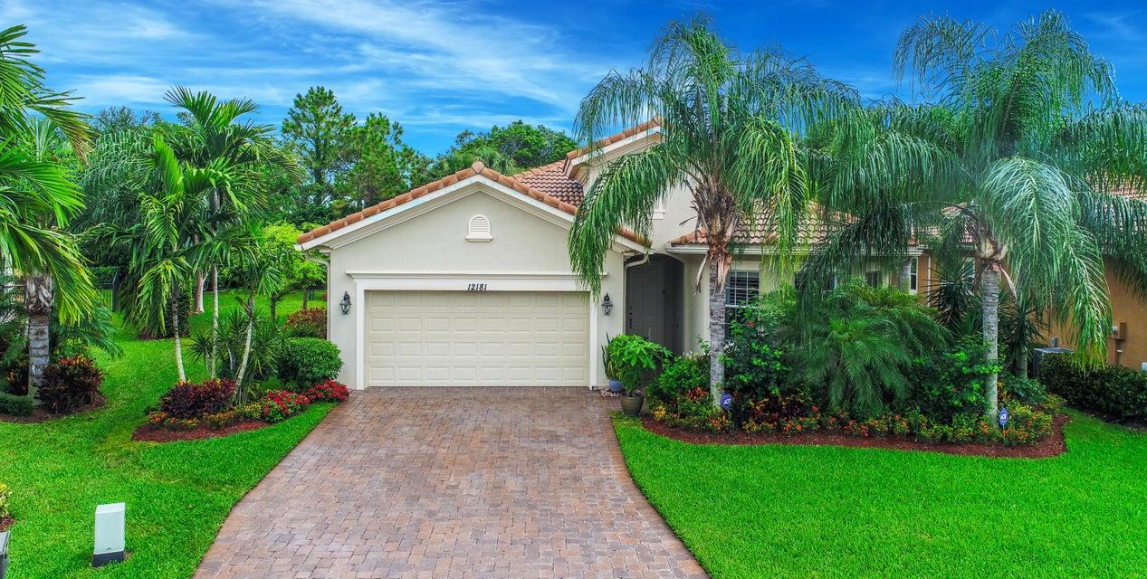 12181 Aviles Circle  Palm Beach Gardens FL 33418