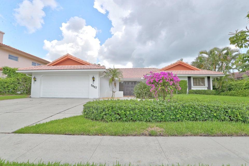 5667 Wind Drift Lane  Boca Raton FL 33433