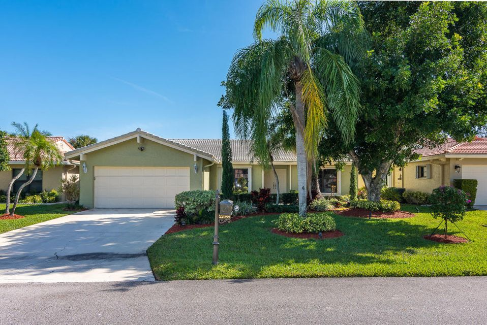 Home for sale in COLONY WOODS AS Boca Raton Florida