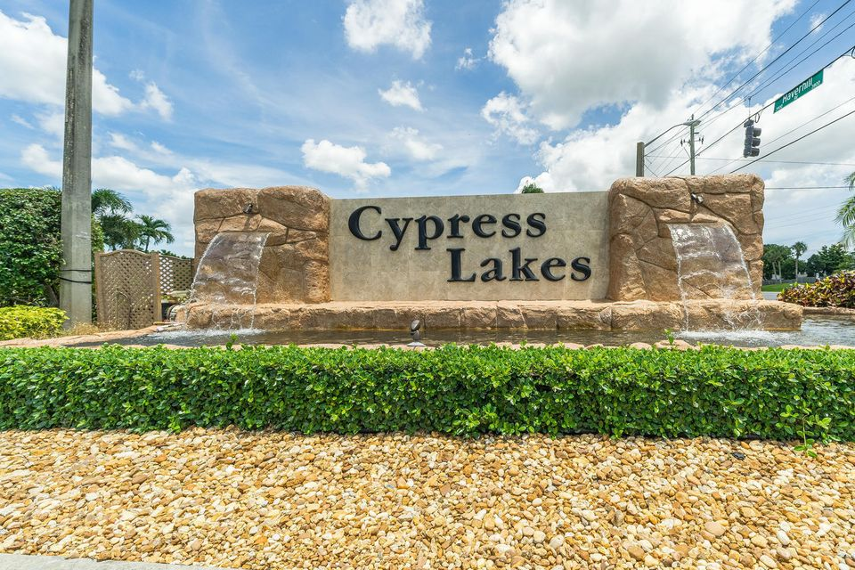 Home for sale in CYPRESS LAKES 3-A West Palm Beach Florida