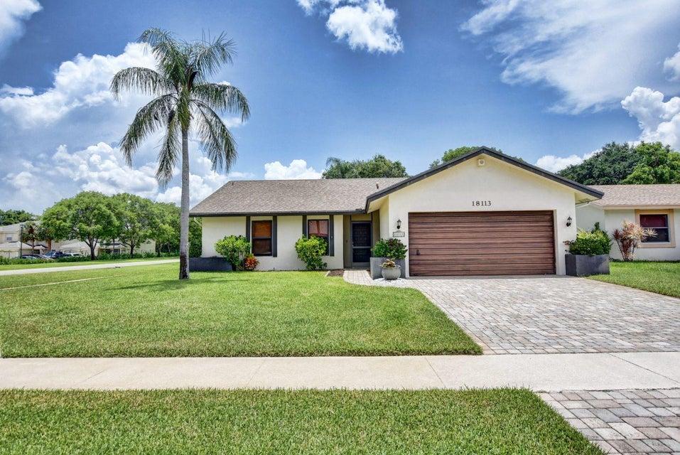 18113 104th Terrace  Boca Raton FL 33498