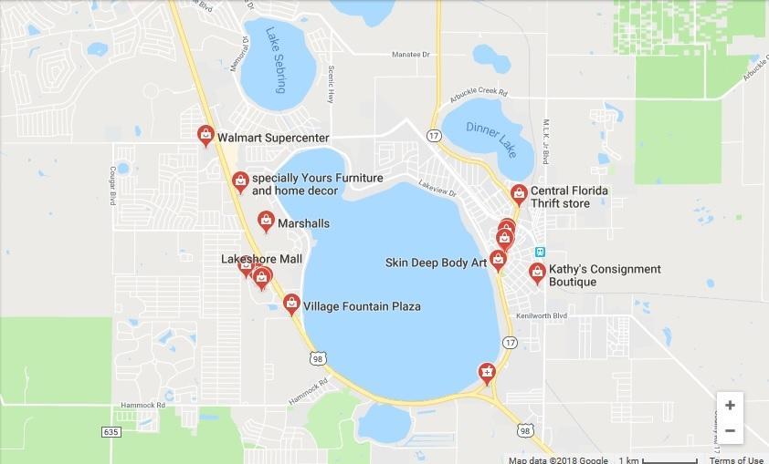 Sebring Florida Map.1456 Stone Ridge Circle Sebring Fl 33870 Mls Rx 10441025