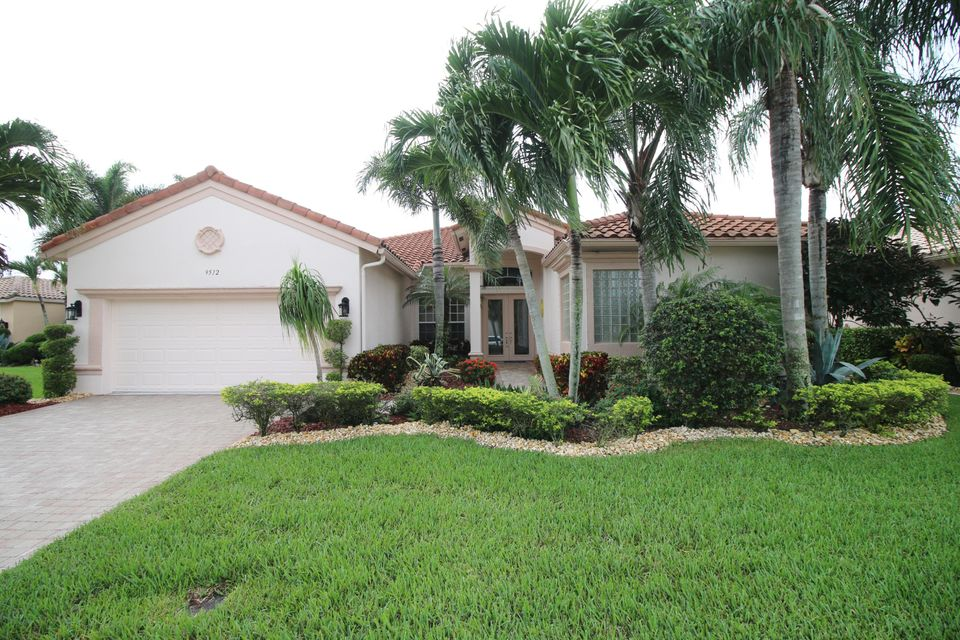 Bellaggio home 9512 Caserta Street Lake Worth FL 33467