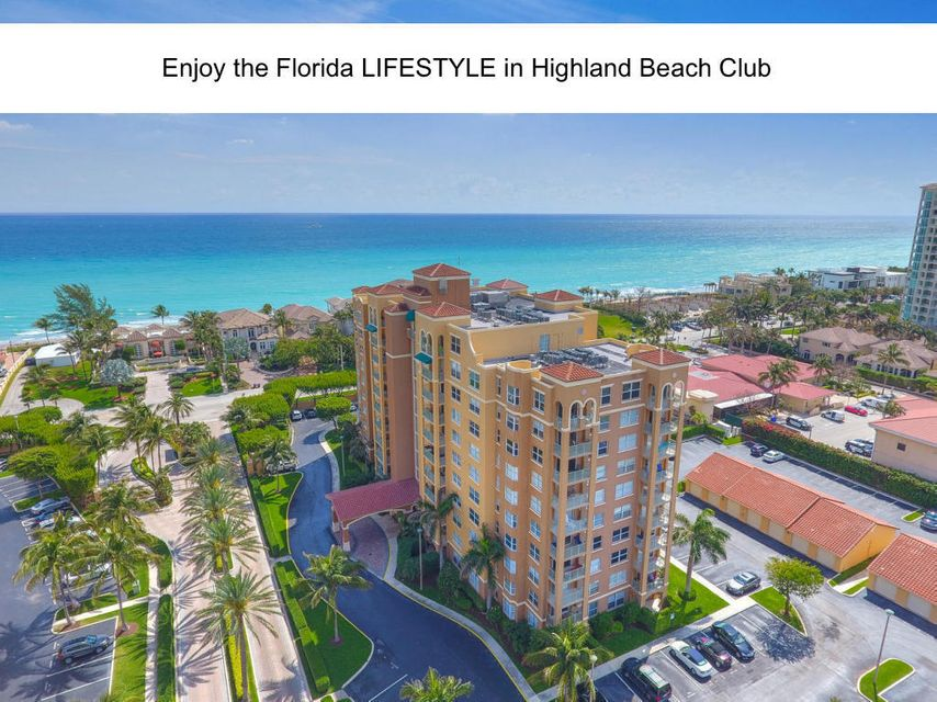 3594 S Ocean Boulevard 606 , Highland Beach FL 33487 is listed for sale as MLS Listing RX-10449387 39 photos