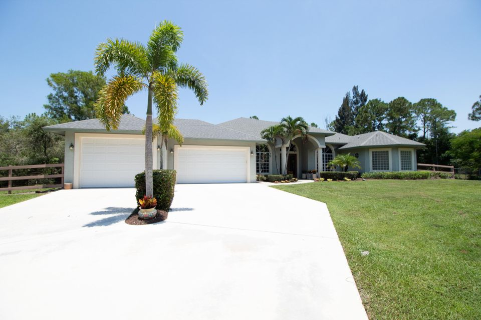Palm Beach Country Estates home on 15730  84th Avenue