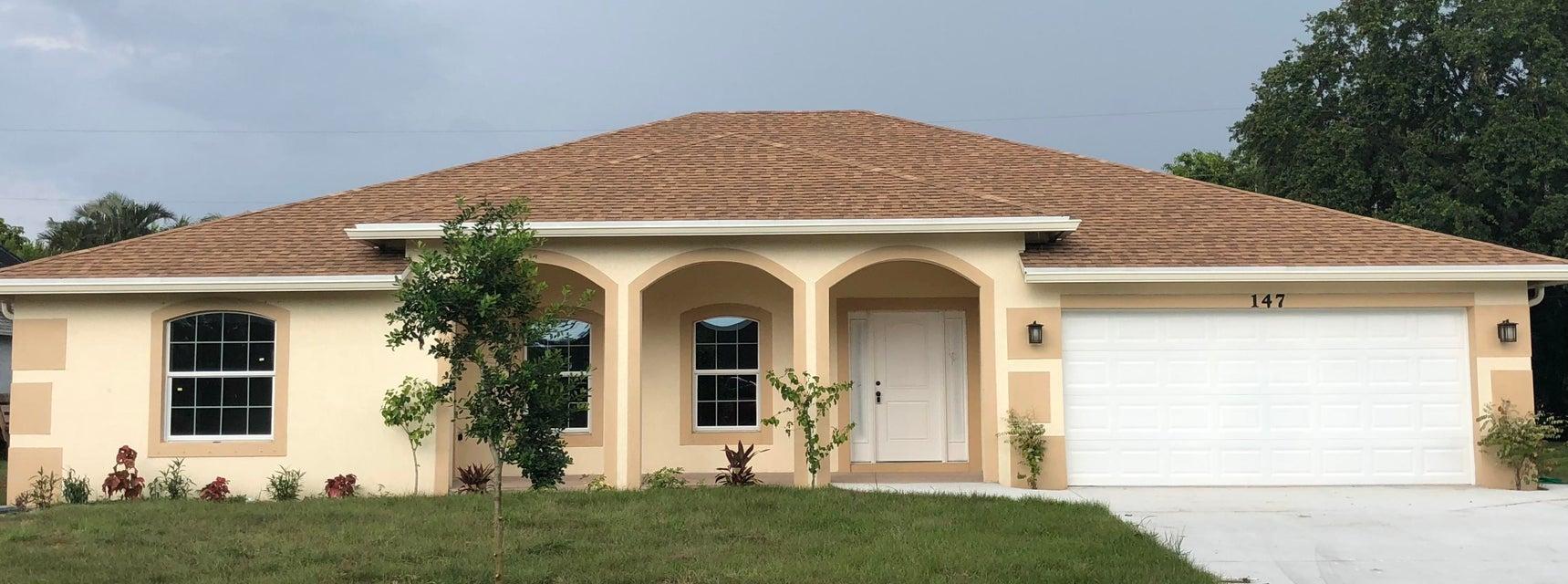 Photo of 147 NW Friar Street, Port Saint Lucie, FL 34983
