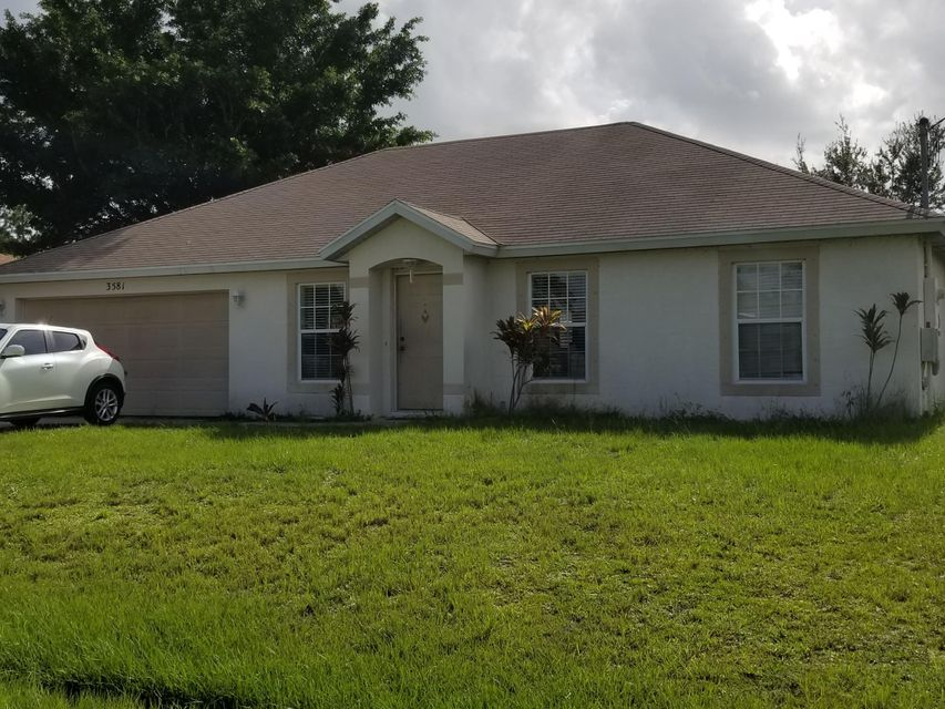 3581 SW Kromrey Street, Port Saint Lucie, Florida