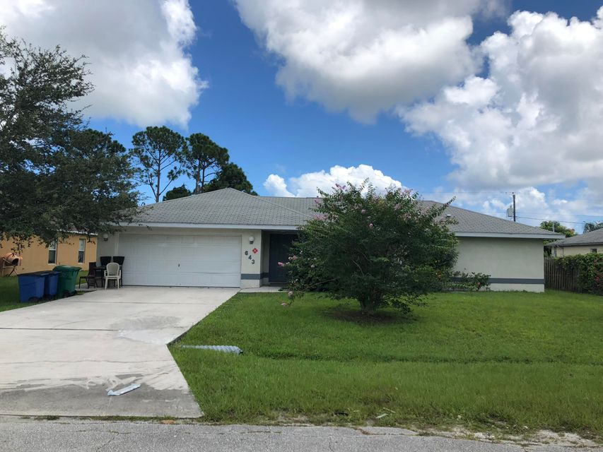 643 NE Lagoon Lane  Port Saint Lucie FL 34983