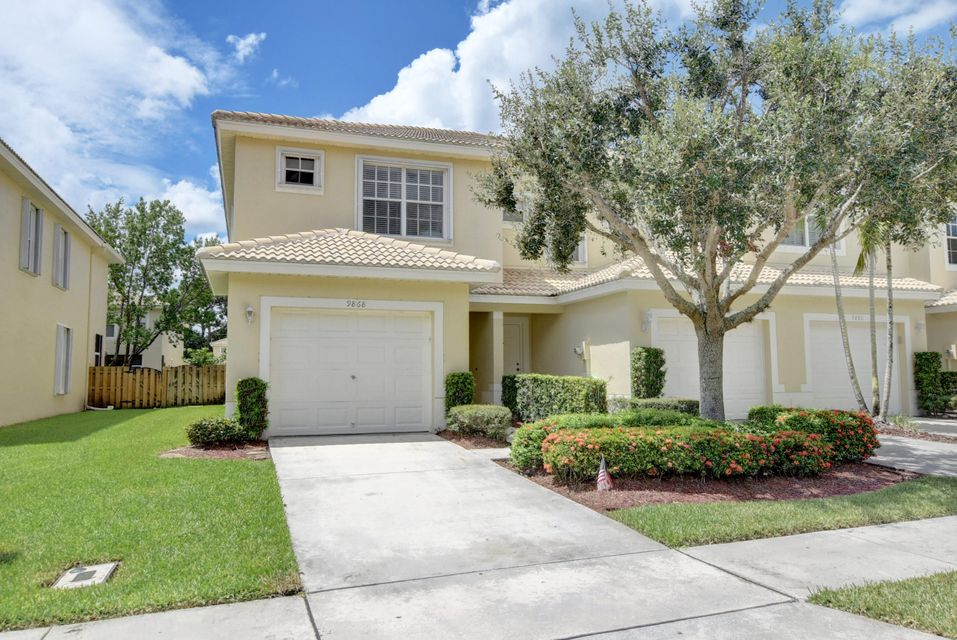 9868  Porta Leona Lane, Boynton Beach in Palm Beach County, FL 33472 Home for Sale