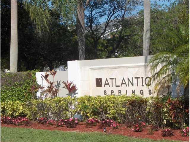 Home for sale in Atlantic Springs Coral Springs Florida