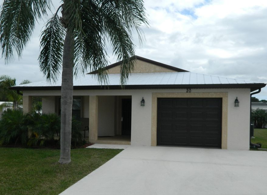 Spanish Lakes One home 55 El Camino Real Port Saint Lucie FL 34952