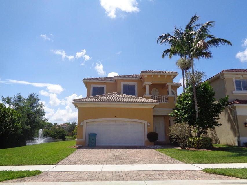 47  Country Lake Circle, Boynton Beach in Palm Beach County, FL 33436 Home for Sale