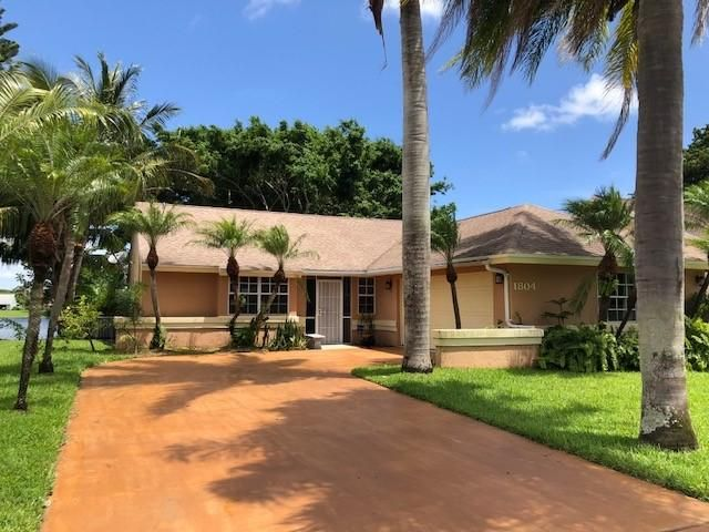 1804  Edgewater Drive, Boynton Beach in Palm Beach County, FL 33436 Home for Sale