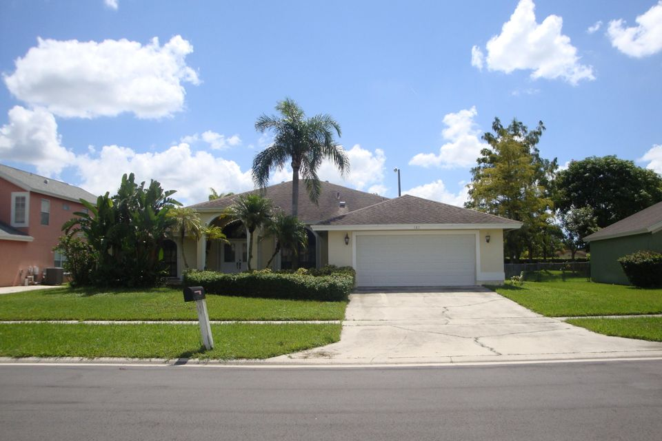 Home for sale in CRESTWOOD UNIT 1 PL 5 Royal Palm Beach Florida