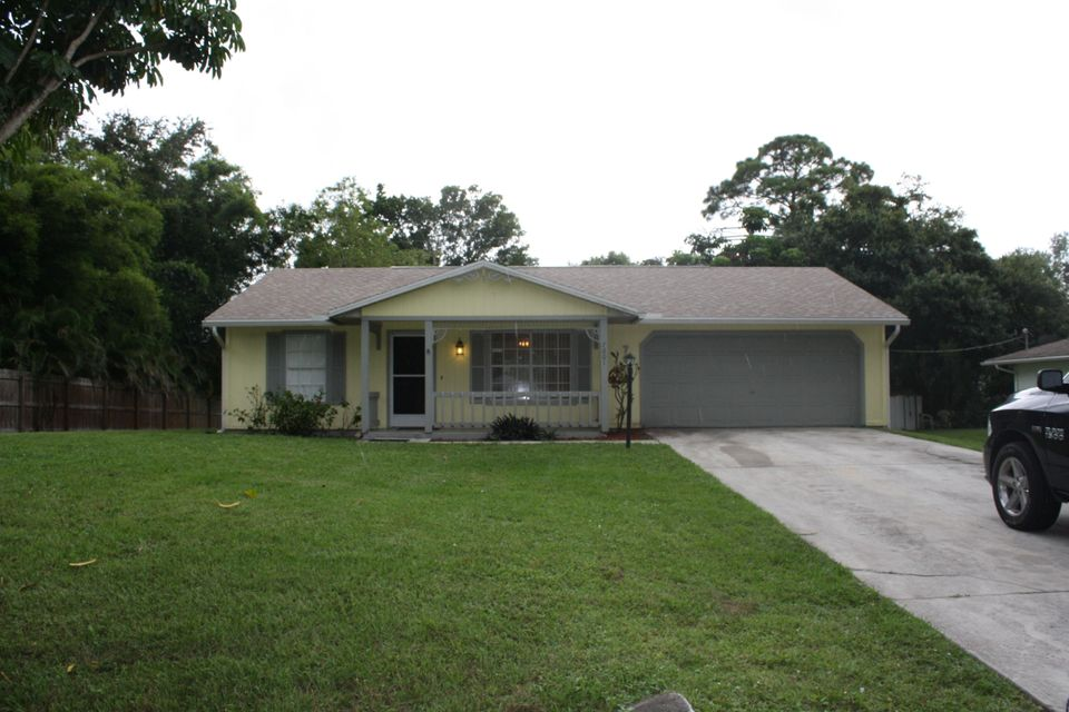Home for sale in LAKEWOOD PARK UNIT 7 Fort Pierce Florida