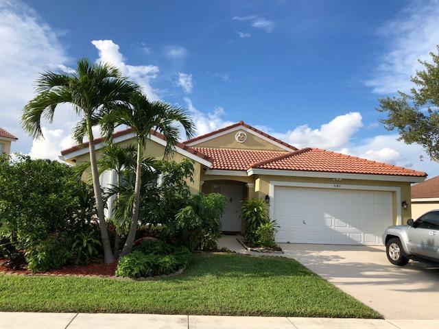 Home for sale in Winston Trails - Prairie Dunes Village Lake Worth Florida