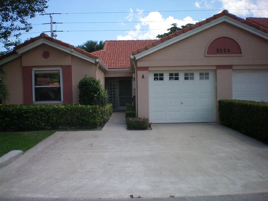 PALM ISLES I, II AND III CONDOS home 9904 Summerbrook Terrace Boynton Beach FL 33437