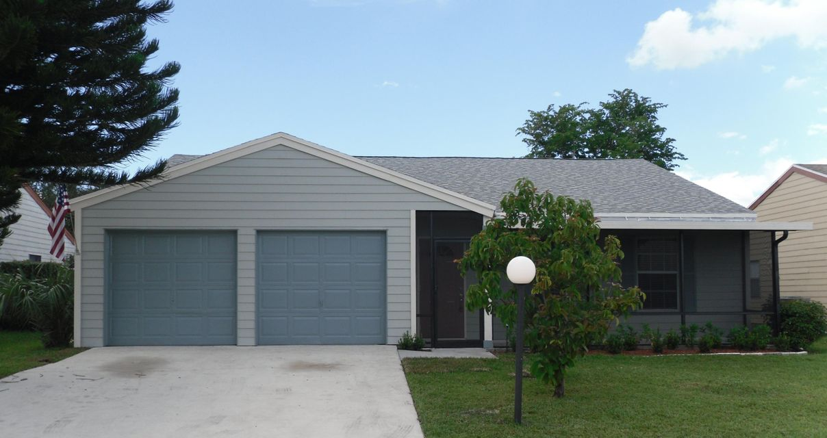 Home for sale in Country Lakes West Lake Worth Florida