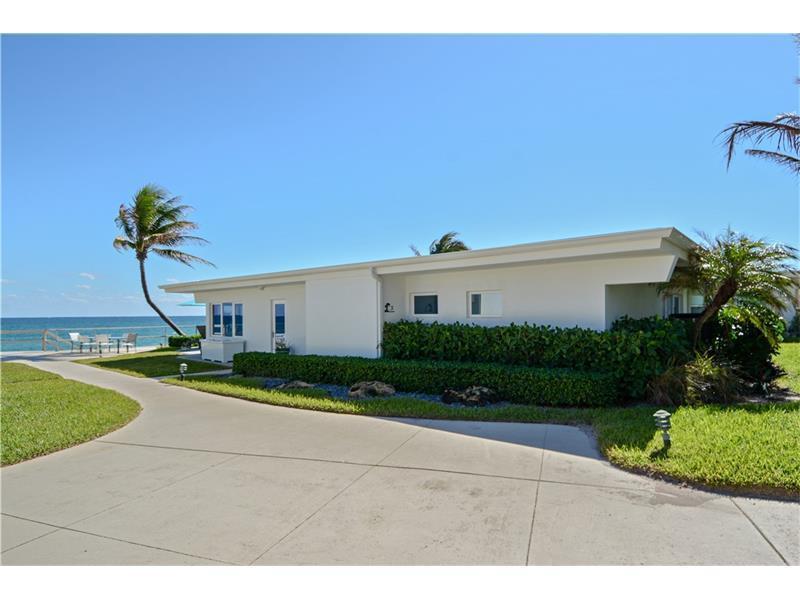 Home for sale in Palm Hill Ocean Club Hillsboro Beach Florida