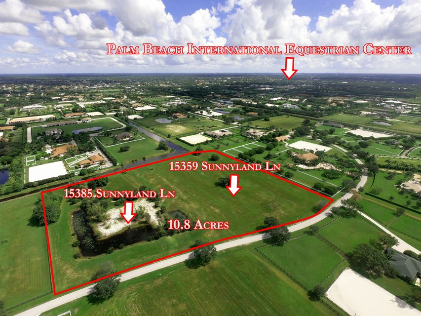 15359 & 15385 Sunnyland Lane Wellington, FL 33414