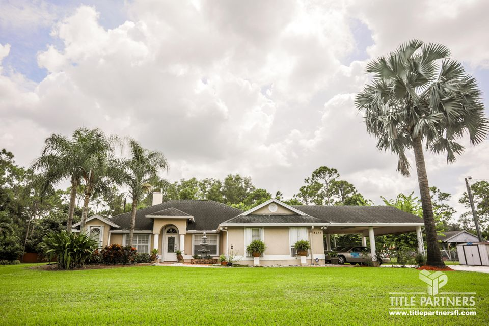 18098 49th Street  Loxahatchee FL 33470