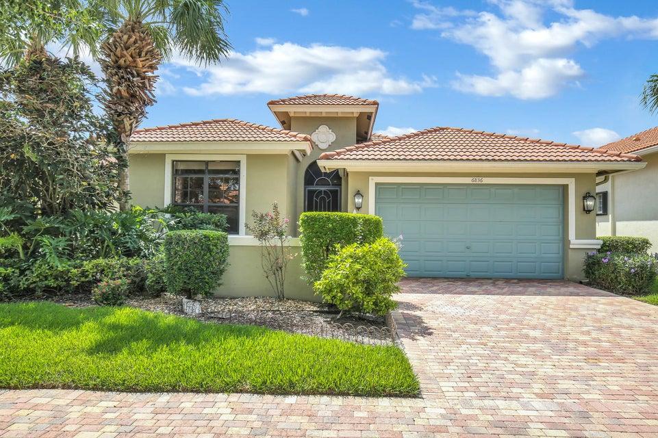 TIVOLI LAKES PUD home 6836 Adriano Drive Boynton Beach FL 33437