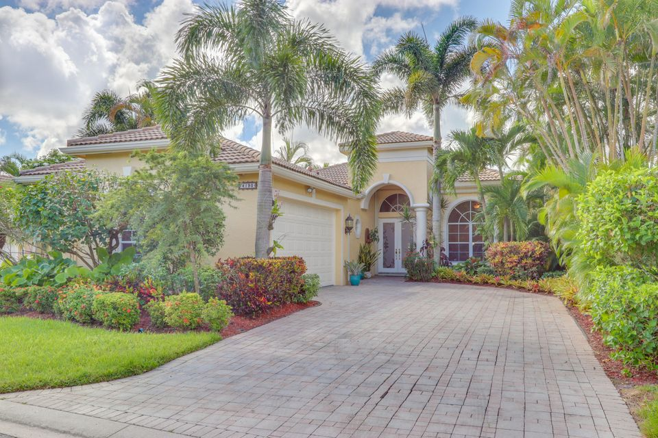 Home for sale in Wycliffe Golf & Country Club Wellington Florida