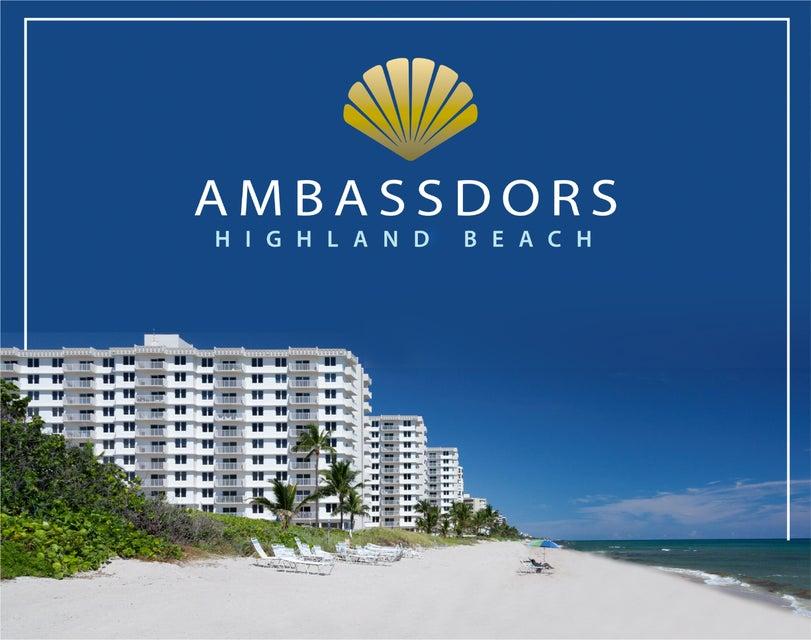3301 S Ocean Boulevard 502 , Highland Beach FL 33487 is listed for sale as MLS Listing RX-10468646 24 photos
