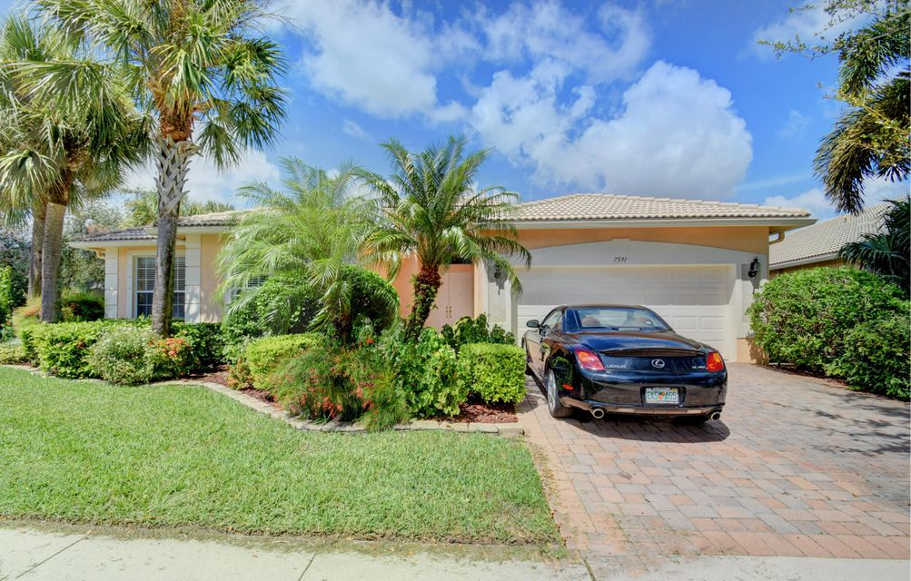 AVALON ESTATES home 7591 Monticello Way Boynton Beach FL 33437