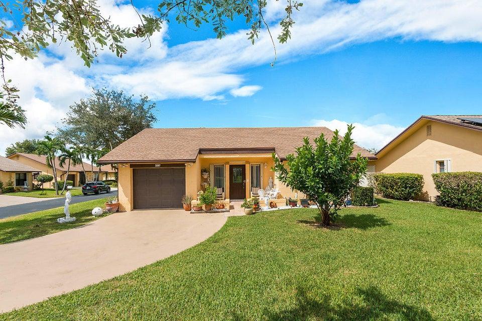 3287 Shadow Wood Drive Lake Worth, FL 33463