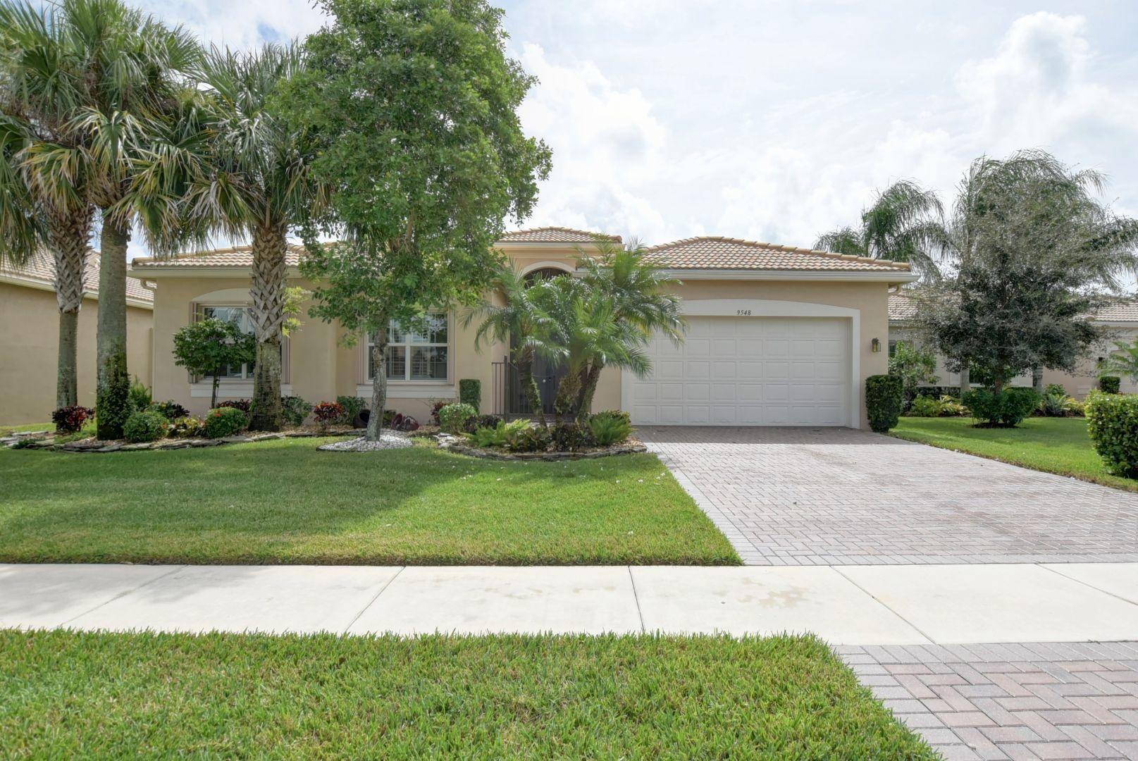 Valencia Reserve home 9548 Dovetree Isle Drive Boynton Beach FL 33473