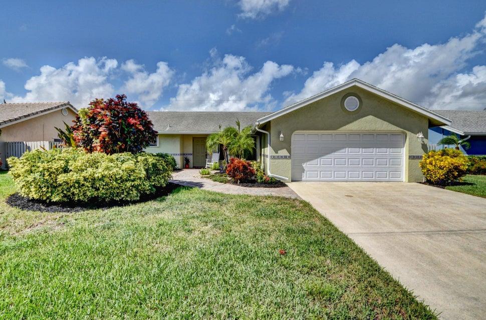 Home for sale in Hidden Valley Boca Raton Florida