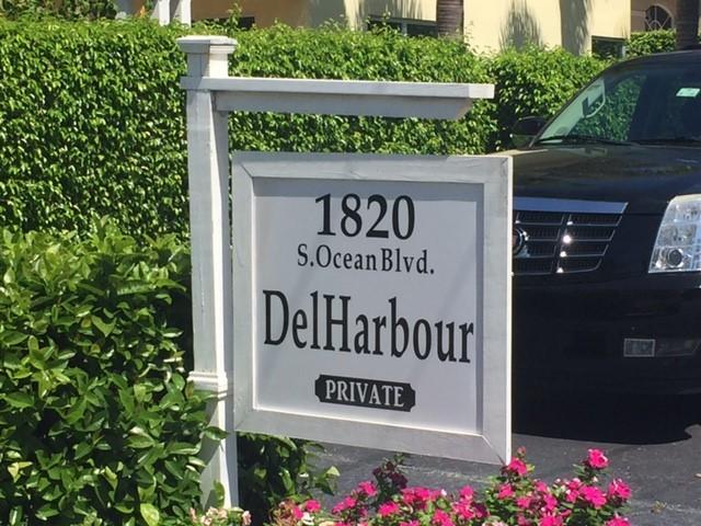 Del Harbour Condo 1820 S Ocean Boulevard