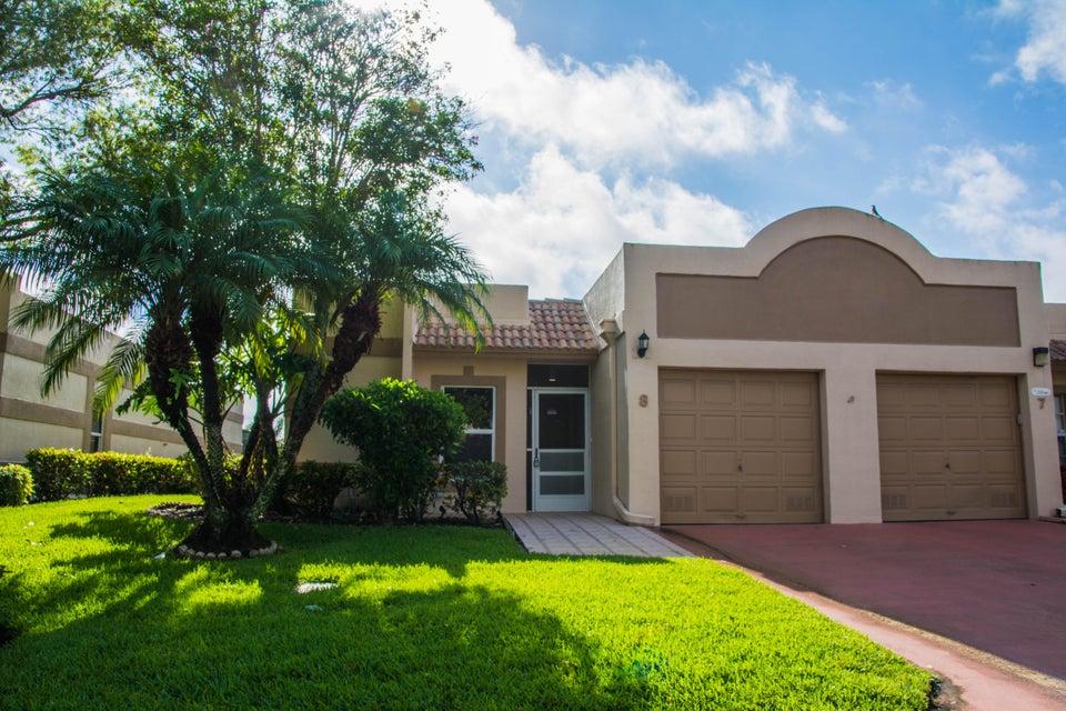 TOWN VILLAS home 18800 Haywood Terrace Boca Raton FL 33496