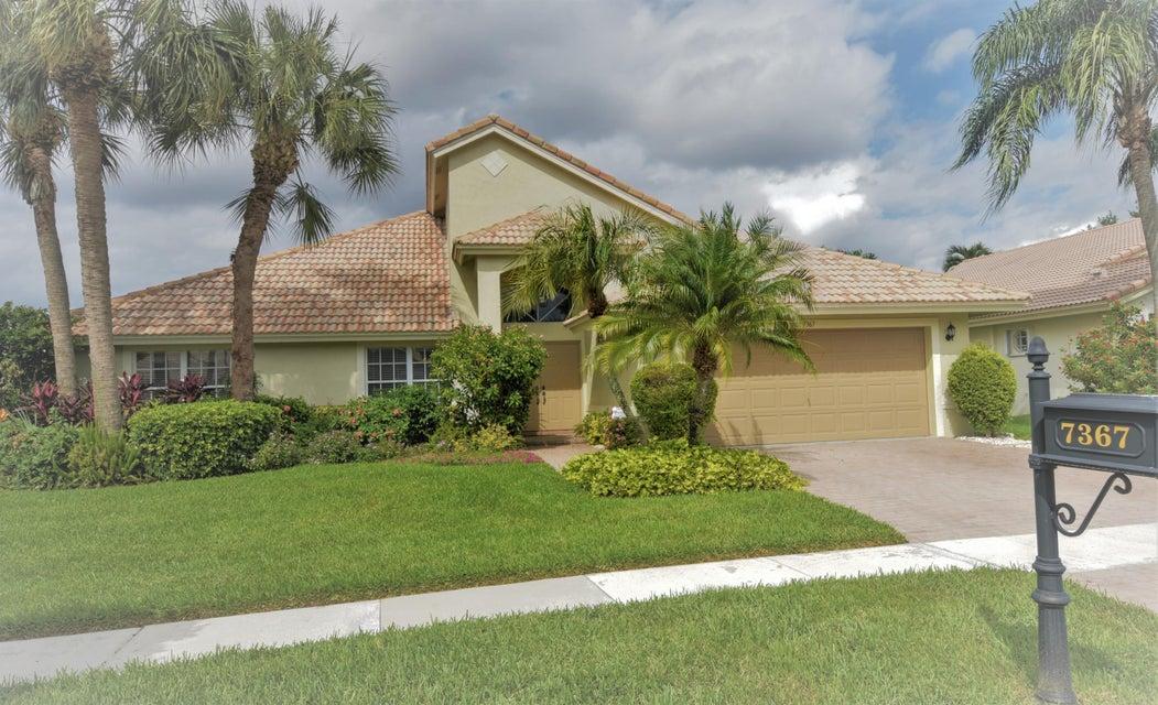 LAKERIDGE FALLS home 7367 Falls Road Boynton Beach FL 33437