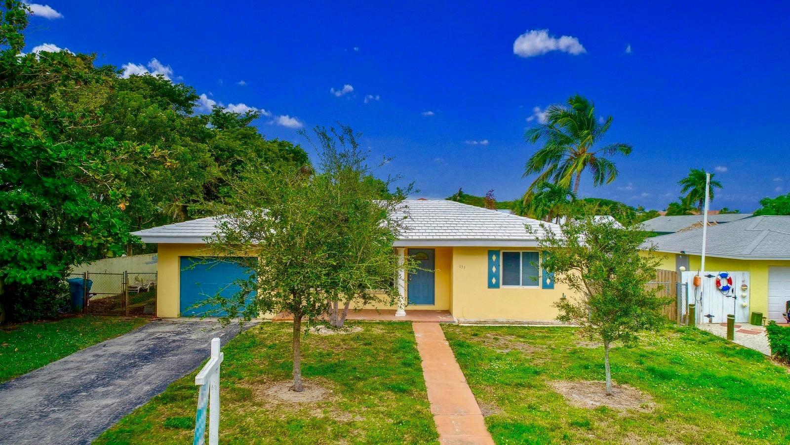 633 Ocean Inlet Drive  Boynton Beach FL 33435