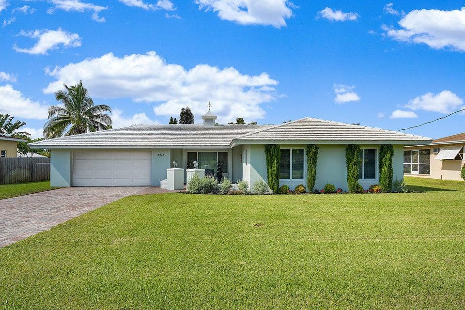 3213 Canal Drive  Boynton Beach FL 33435
