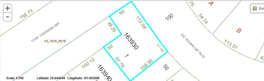 Additional photo for property listing at Lot 1 Driftwood Lane  Sugarloaf, Florida 33042 Hoa Kỳ
