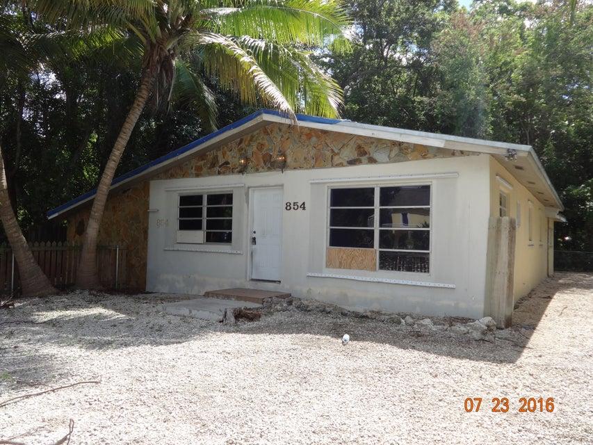 Maison unifamiliale pour l Vente à 854 Ellen Drive Key Largo, Florida 33037 États-Unis